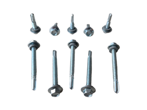 Self Drilling Screw With Rubber Washer