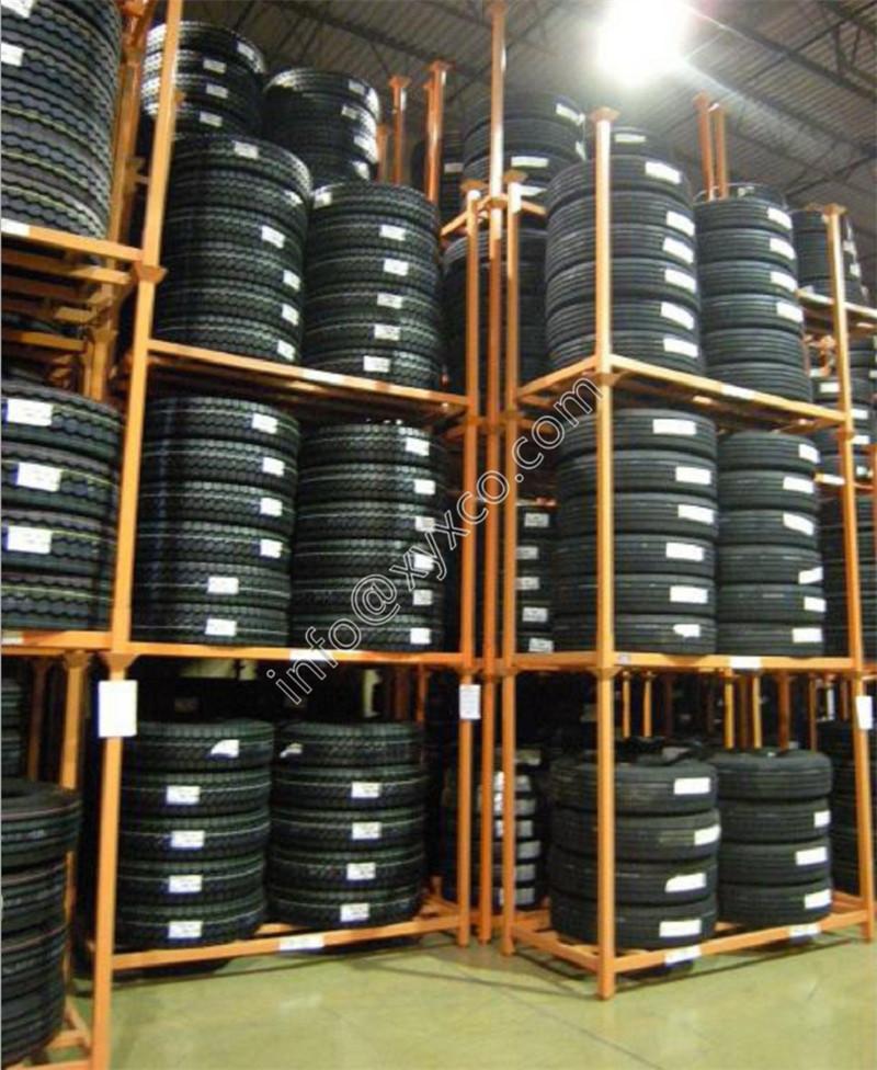 tire racks with mesh
