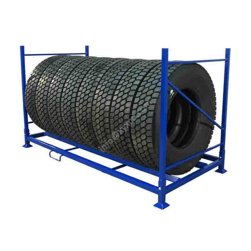 folding tire rack