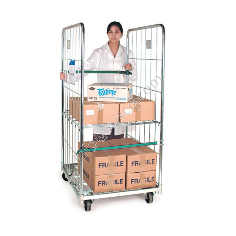 folding roll container