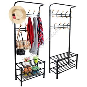 Clothes And Shoes Rack
