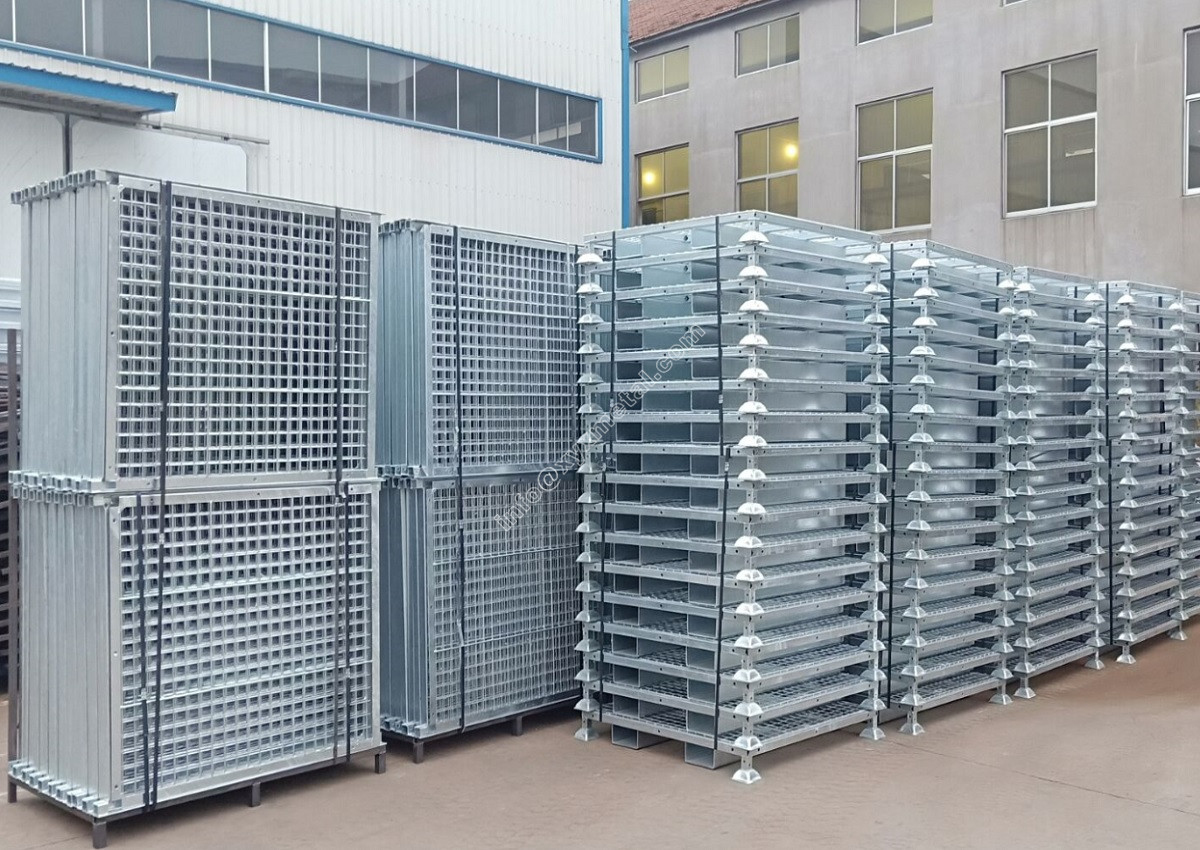 1500PCS HDG Heavy duty Wire mesh container