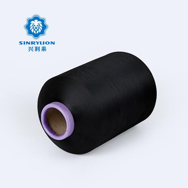 black knitting yarn for label