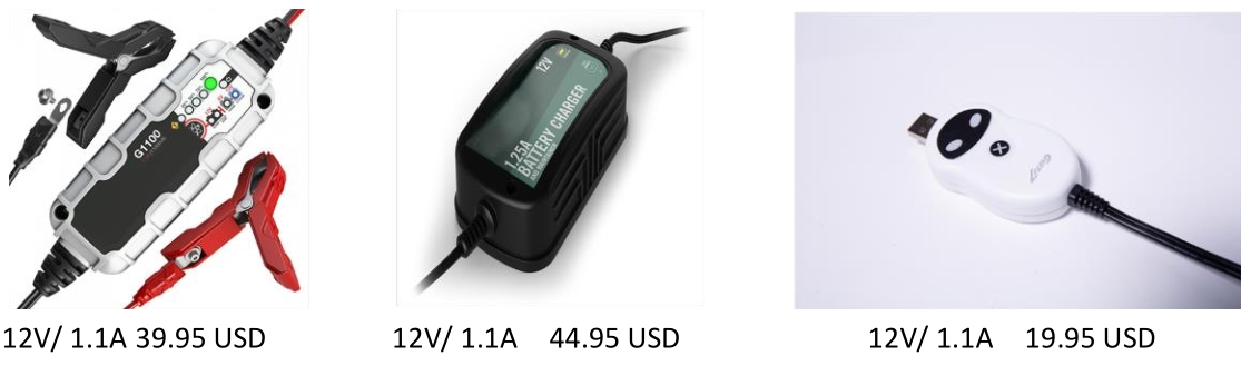 mini 12v battery charger