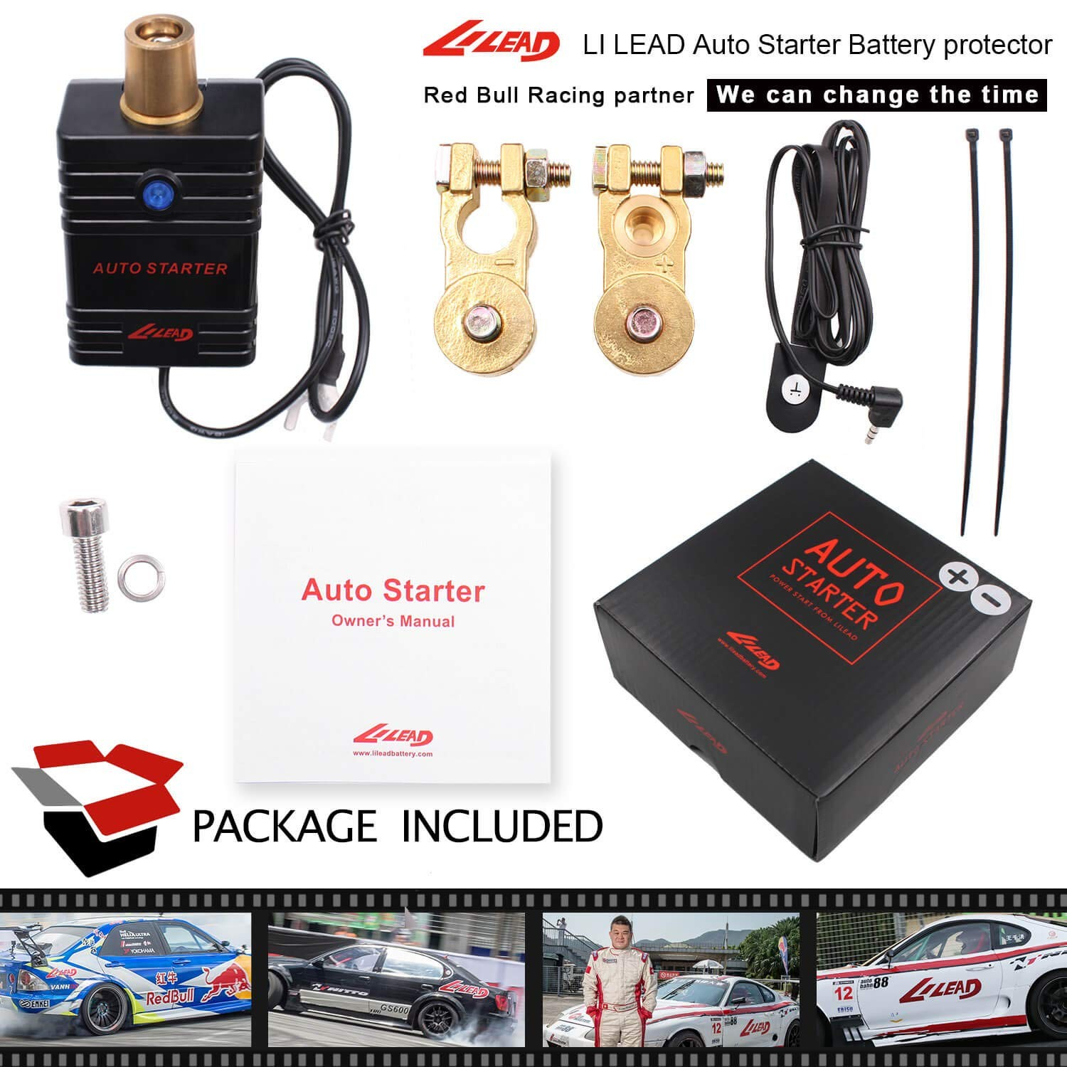 LILEAD New products---batteryless jump starter/ automatic battery protector