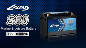 LILEAD New big capacity battery--- S80 battery , 12V 1000Wh