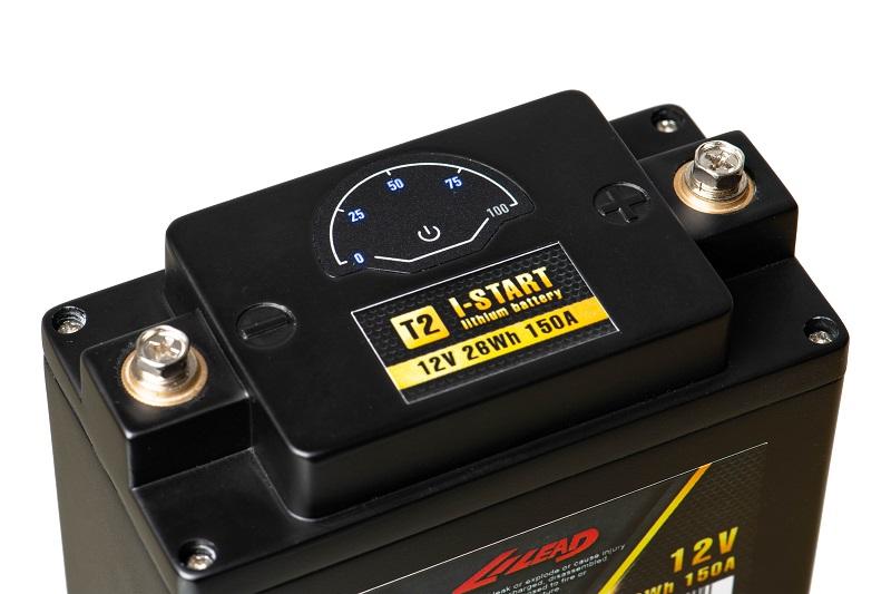 Lithium motorbike battery