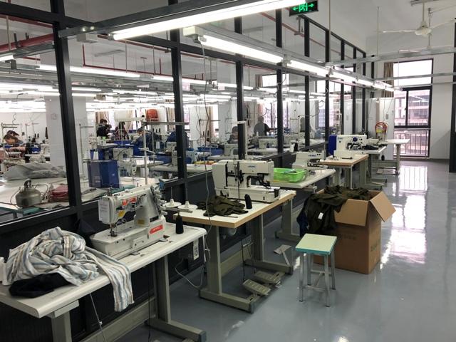 Clothing production workshop