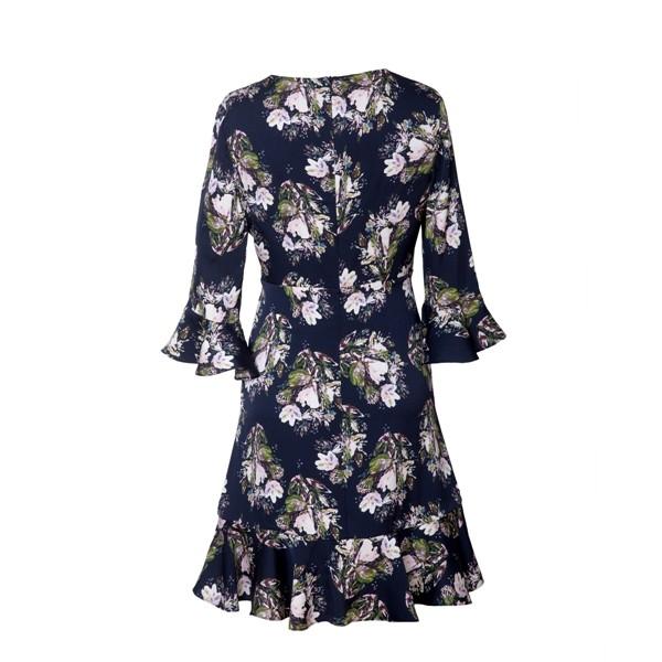 Printed Silk Dress Manufacturers, Printed Silk Dress Factory, Supply Printed Silk Dress