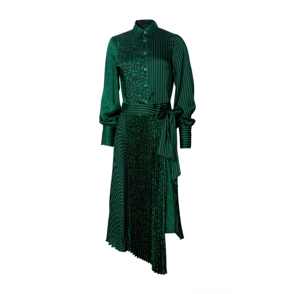 Long Sleeve Polyester Dress