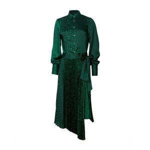 Long Sleeve Polyester Dress