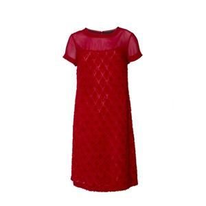 Short Sleeve Polyester Dress