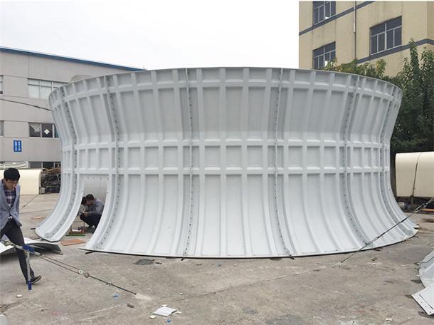 Pila de ventiladores de FRP, pila de ventiladores de FRP duradera, pila de ventiladores de FRP de bajo costo, cotizaciones de pila de ventiladores de FRP