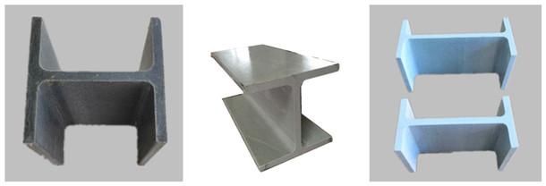 Fiberglass structural shapes