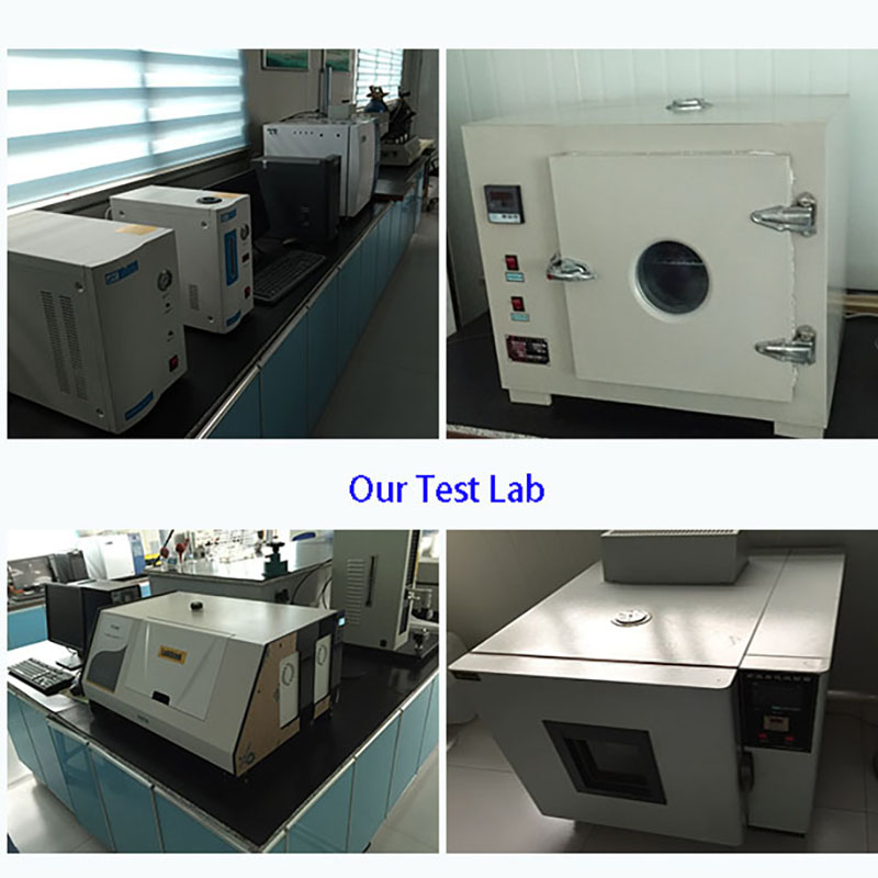 Test Lab and quality control process