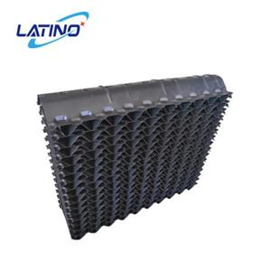 145MM PVC drift eliminator, air inlet louver for cross flow cooling tower