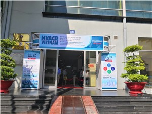 LATINO ATTEND THE HVACR VIETNAM EXHIBITION