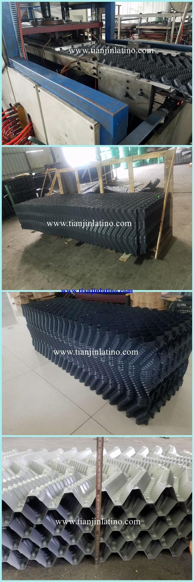 Remplissage PVC tour de refroidissement