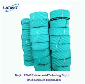 PVC remplissage pour la tour de refroidissement ronde
