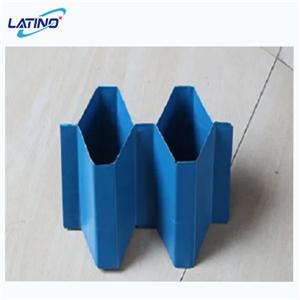 Lamelle de décanteur de tube en PVC bleu