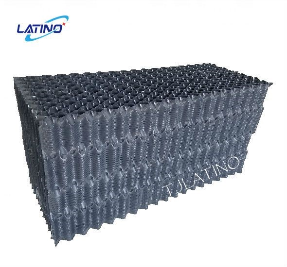 Cooling Tower PVC Film Fill For Counter Flow Cooling Towers