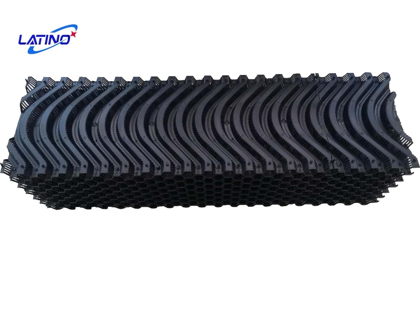 Almohadilla de enfriamiento evaporativo L3000 * H2000 * T150 7090 con marco de aleación de aluminio para granja avícola