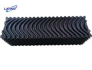 Coussin de refroidissement par évaporation L3000 * H2000 * T150 7090 avec cadre en alliage d'aluminium pour ferme avicole