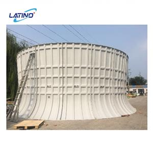 Customerized Hand-Lay Up Cooling Tower Fan Ring FRP Fan Stack