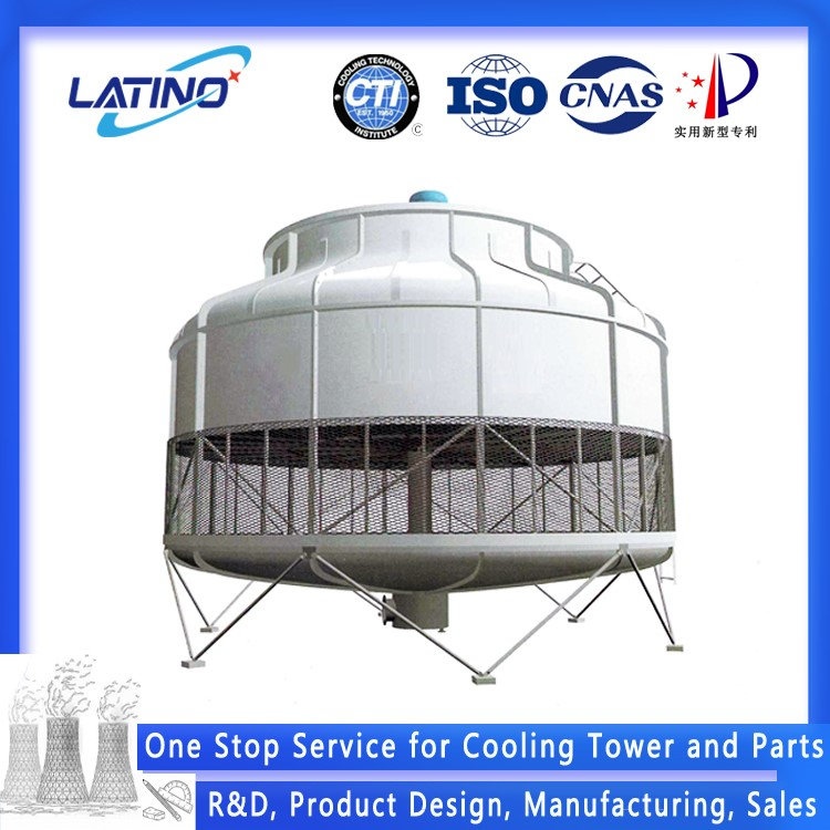 FRP Counter Flow Low Noise Round/Square Type Cooling Tower