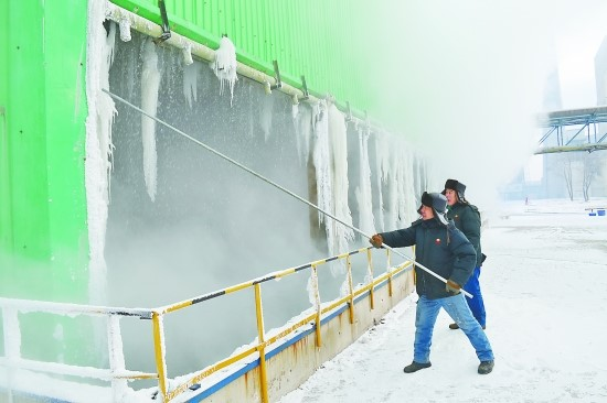 Cooling Tower Maintenance in The Freezing Weather