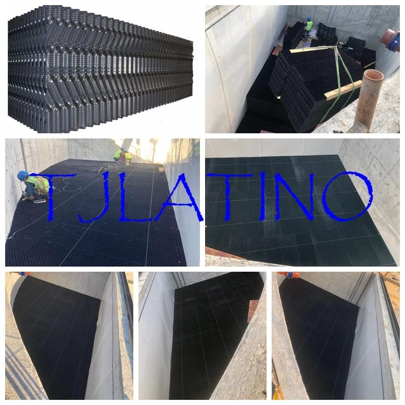 Utilisation de remplissage de PVC