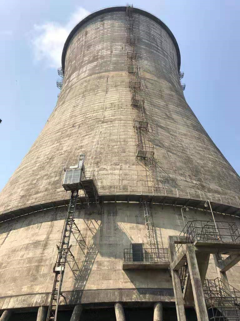 Cooling Tower Drift Eliminator Replaced Project From Latino