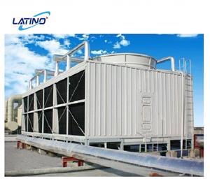 Tour de refroidissement combinée à contre-courant par évaporation utilisée industrielle d'écoulement transversal