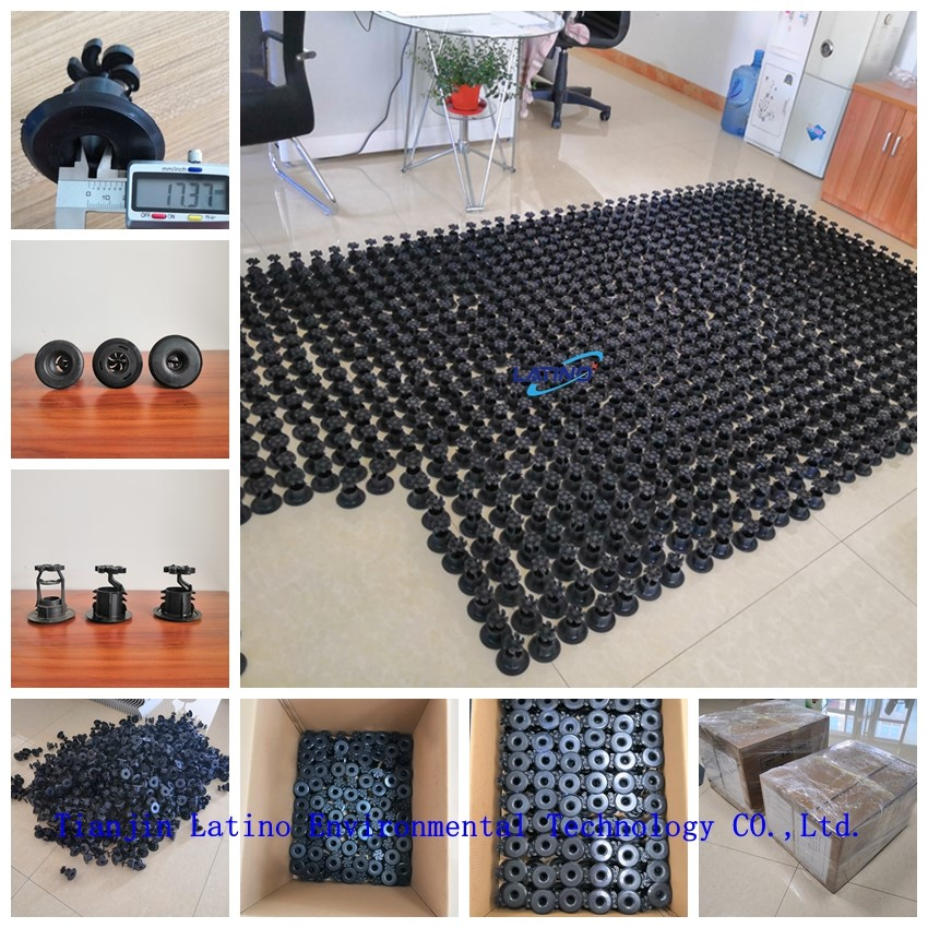 Spray nozzle for cooling tower