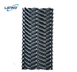 Material de relleno de película de PVC de la torre de enfriamiento de contraflujo