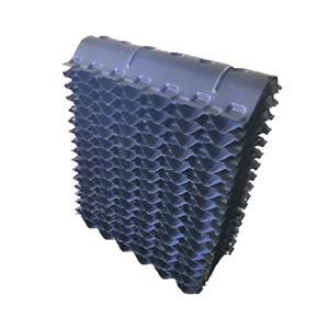 Eliminador de deriva de PVC de 145 mm, rejilla de entrada de aire para torre de enfriamiento de flujo cruzado