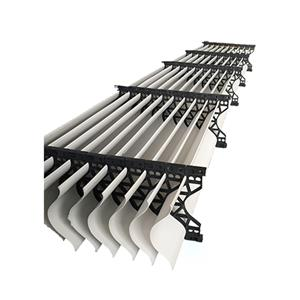 Eliminadores de deriva de torres de enfriamiento con material de PVC
