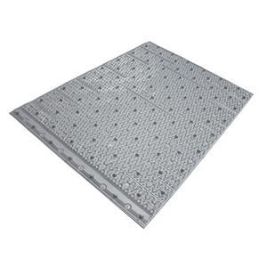 Material de relleno de PVC de torre de enfriamiento cruzado
