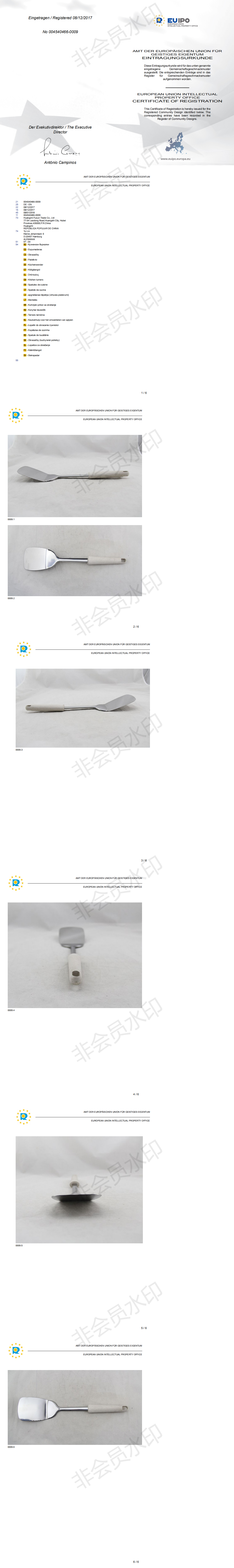 Патент ЕС 004540466-0009