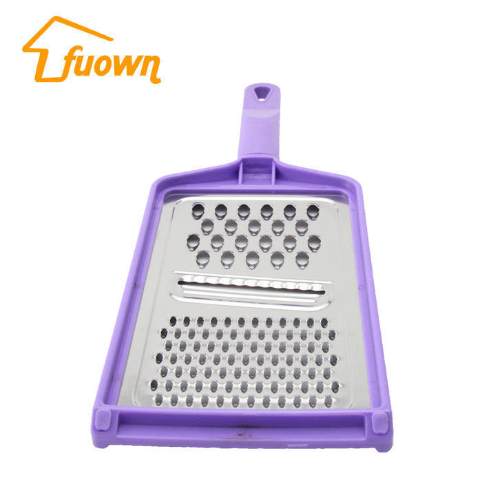 Amazon Hot Sale Stainless Steel Flat Zester Grater For Soft Cheese
