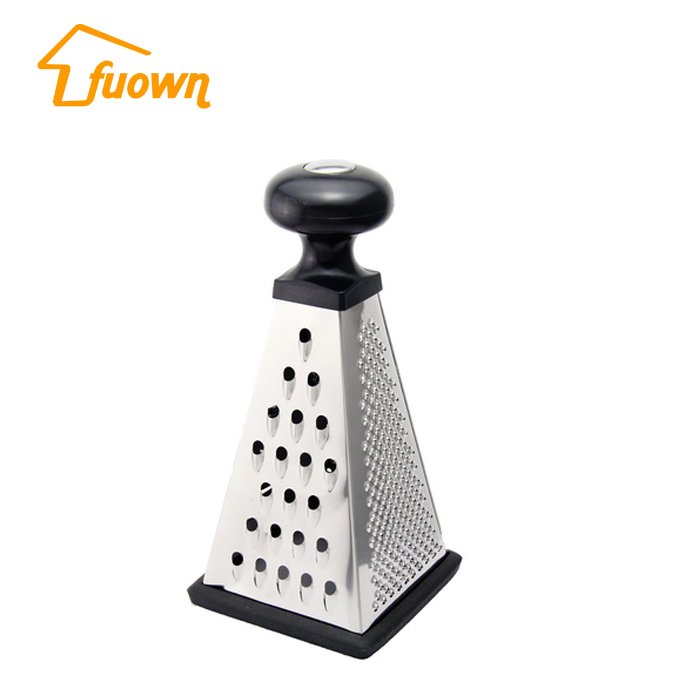 LFGB Stainless Steel 4 Sides Cheese Grater