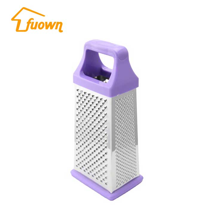 Plastic Handle 4 Sides Cheese Grater