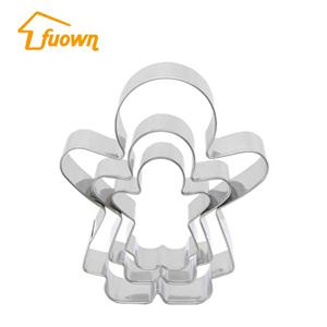 3 PCS Cookie Cutter Stainless Steel Customized Shaped Cake Cutter Cake Mould