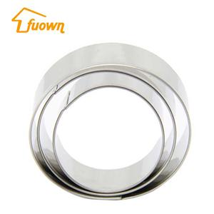 5 PCS Different Sizes Stainless Steel Cookie Biscuit Cutter
