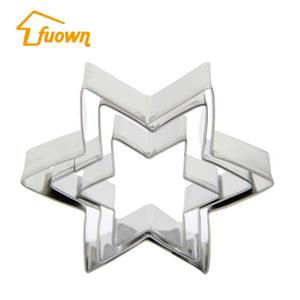 3 PCS Stainless Steel Cake Cutter Flower Shaped Cake Press Mould