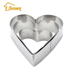 Home DIY Cake Mould Stainless Steel Valentine