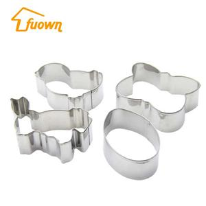 Easter Themes Stainless Steel Cookie Cutter