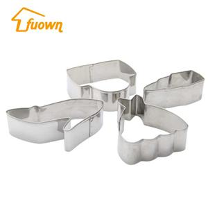 Girls Themes Stainless Steel Cookie Cutter