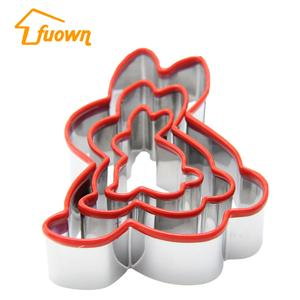 Hot Selling Stainless Steel Baking Cutter With Silicone Edge