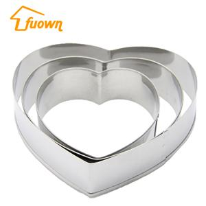 Stainless Steel Cookie Cutter Customized Love Shape